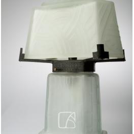 Lampe rectangulaire Daum