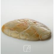 Plaquette en jade néphrite