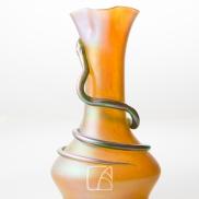 Vase en verre irisé Loetz
