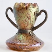 Grand vase monté, Bohème