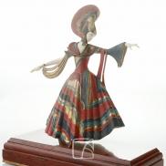 Statuette de danseuse par Gerdago