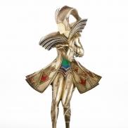 Statuette chryséléphantine par Gerdago