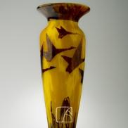 """Vase """"Halbrans"""" par SCHNEIDER"""