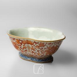 Paire de bols en porcelaine