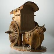 Chariot tiré par un buffle, dynastie Tang